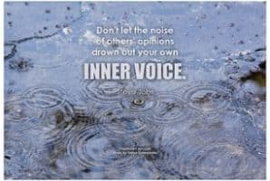 The Habit, Courage & Necessity of Listening to Your Inner Voice