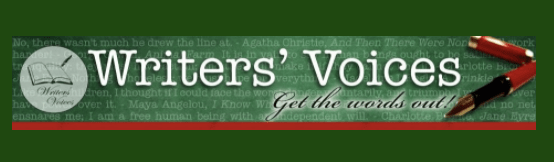 Interview on Writers' Voices — Podcast